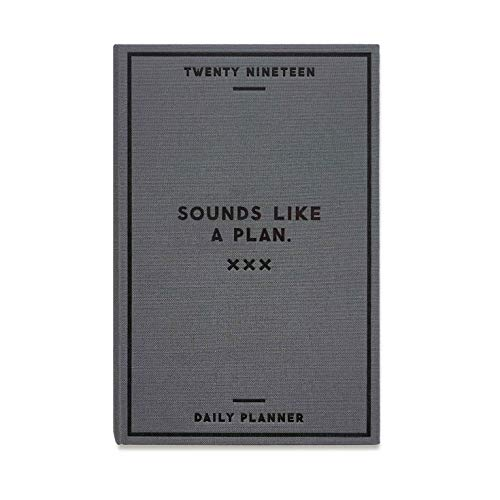 Easy, Tiger Sounds Like A Plan 2019 Daily Planner Organizer