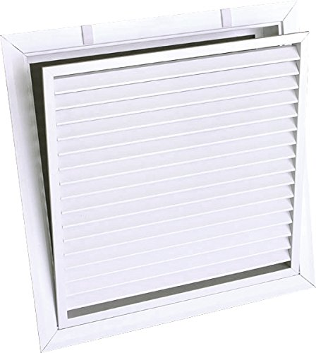 Truaire 24 X 24 Return Air Filter Grille - Aluminum Fixed Bar - White - Aluminum Grille