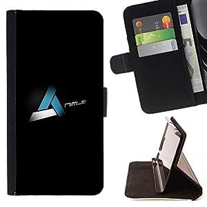 Momo Phone Case / Flip Funda de Cuero Case Cover - Nimus;;;;;;;; - HTC One M7