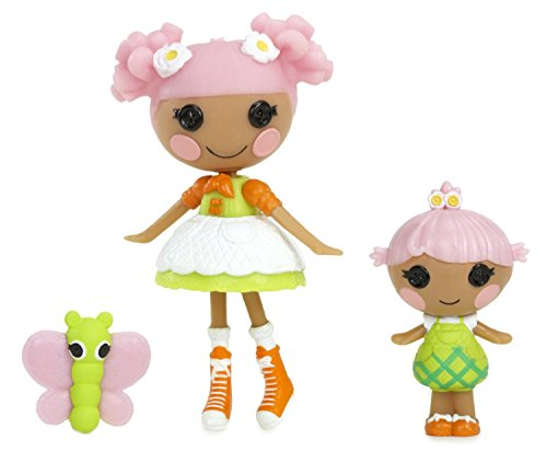 Lalaloopsy Mini Littles Blossom Flowerpot and Petal Flowerpot Doll - Gardener Mini Button