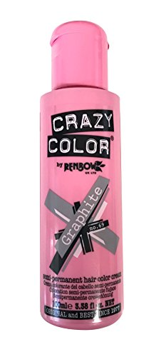 Crazy Color Hair Tint Number 69, Graphite 100 ml