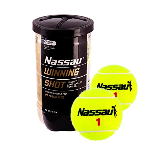 Nassau WINNING SHOT(T-255) Tennisball 2P(CANS)