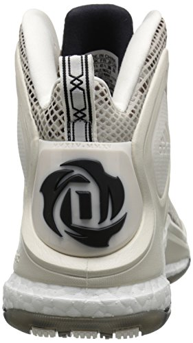 Adidas Performance Mens D Rose 5 Boost Chaussure De Basket-ball Craie Blanc