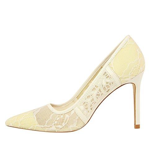 Xue Qiqi trendige Damenschuhe licht Düsenspitze spitze High High High Heels girls fein mit einzelnen Schuhe ausgesetzt f770f1