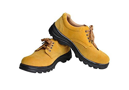 Men's Work Safety Shoes, Steel Toe Work Shoes Industrial & Construction Shoes Puncture Proof Safety Shoes (11) by GeBaoZhen (Image #4)