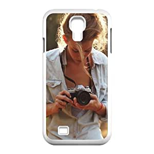 Samsung Galaxy S4 9500 Cell Phone Case White_Girl Photographers TR2297984