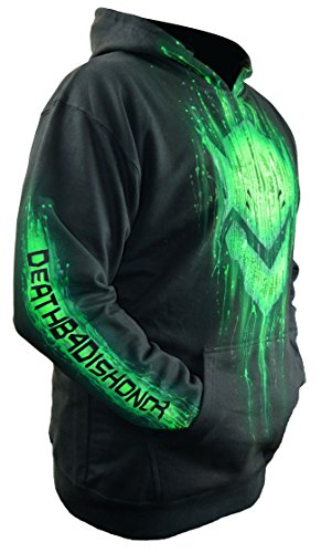 Sid Vicious Overwatch Genji Hoodie Custom Airbrushed Add Your Gamertag Adult Large