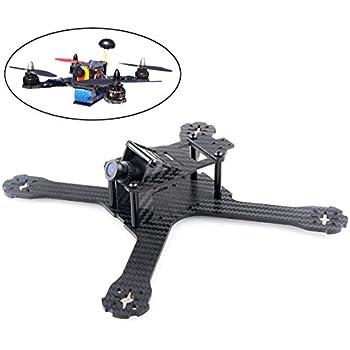 Crazepony X210 Carbon Fiber FPV Race Quadcopter Frame like QAV-X210 QAV-X250 etc(4MM)