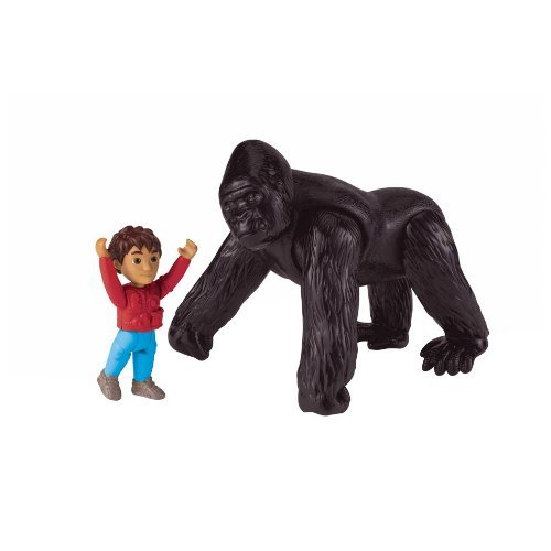 Fisher-Price Go Diego Go Mighty Gorilla Recue Set (Toys Diego)