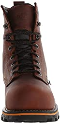 Timberland PRO Men\'s 8 Inch Boondock Composite Toe WP Work and Hunt Boot, Brown Tumbled Leather, 14 M US