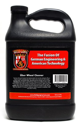Wolfgang Concours Series WG-4902 Uber Wheel Cleaner, 128 fl. oz.