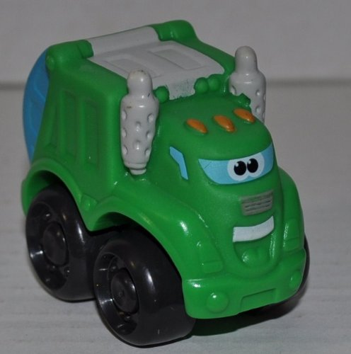 Rowdy the Garabage Truck (2008) Mini Vehicle - Tonka Chuck & Friends - Toy Truck - Loose Out of Package (OOP)