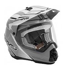 EVS Sports HT5DS-WHBK-XXL T5 DUAL VENTURE Sport Helmet