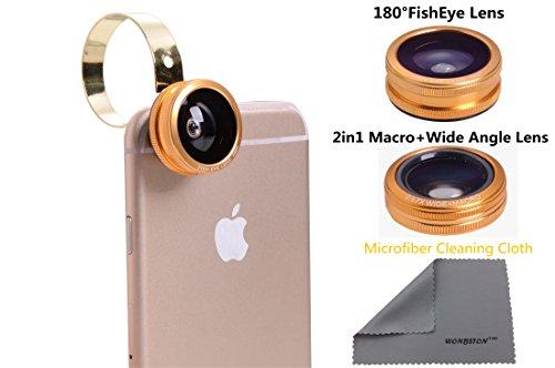 Universal Mobile Phone lens 3 in 1 Phone Lens (GOlden) - 2