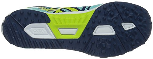 Asics Dames Hyper-rocketgirl Xcs Atletiekschoen Aruba Blauw / Neon Lime / Poseidon