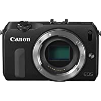 Canon EOS M Compact System Camera - Body Only (Black)