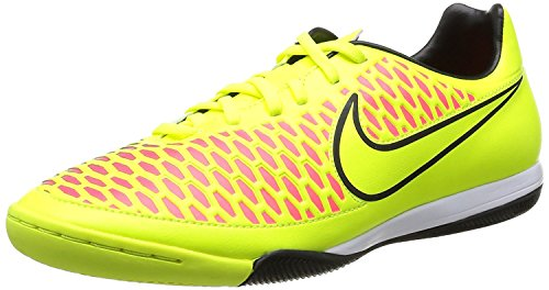 Nike Men's Magista Onda IC Volt/Volt/Black/Hyper Punch Indoor Soccer Shoe 7.5 Men US (Soccer 2015 Shoes Men Nike)