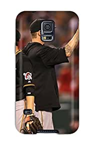 Flexible Tpu Back Case Cover For Galaxy S5 - Pittsburgh Pirates