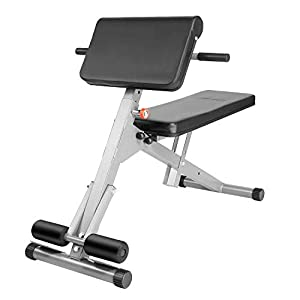 Caroma Weight Bench Adjustable, Foldable Incline Weight Bench Strength Training Bench Decline for Full Body, Exercise Bench for Home/Gym, Flat Bench, Workout bench 300LBS