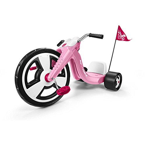 radio-flyer-kids-bike-sports-pedal-and-push-trike-bicycle-with-chopper-style-tricycle-pink