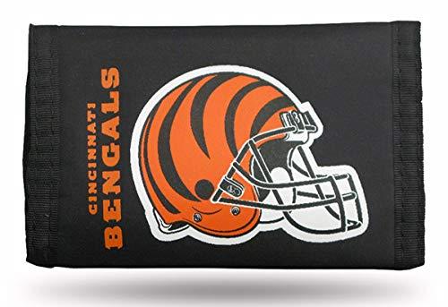 NFL Cincinnati Bengals Nylon Trifold Wallet