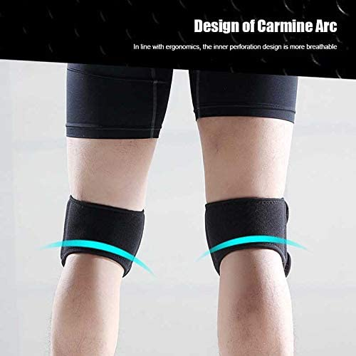 Dastrues Soft Brace Knee Support Strap Adjustable Patella Tendon Protector Belt Guard Pad