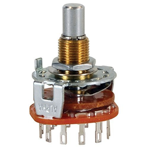 Shorting Rotary Switch (Parts Express Rotary Switch 2 Pole 6 Position Non-Shorting)
