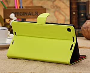 Otterca Fashion Premium PU Leather Protective Skin Smart Stand Case Cover Wallet Folio for New Nexus 7 2013, 2nd Generation
