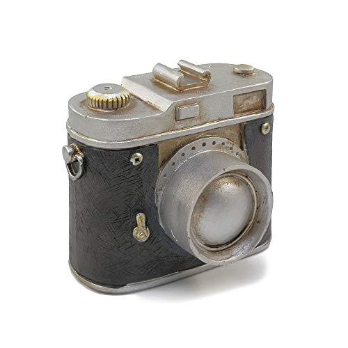 baidercor Retro Black Camera Money Box Piggy Bank