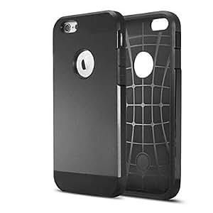 WQQ Cubierta Posterior - Diseño Especial/Innovador - para iPhone 6 ( Colores Surtidos , Silicona ) , White