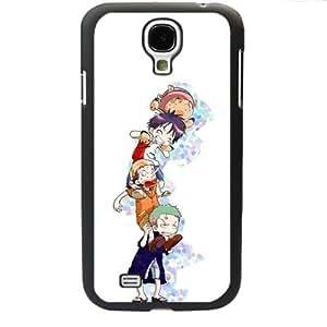 One Piece popular Anime Manga Cartoon Monkey D. Luffy Roronoa Zoro Chooper Comic Samsung Galaxy S4 SIV i9500 Soft Soft Black or White case (Black)