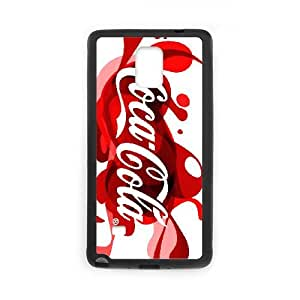 Coca Cola Samsung Galaxy Note 4 Cell Phone Case Black yyfD-015357