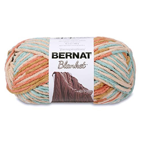 Bernat Blanket Big Ball Yarn (10136) Sailors Delight ()