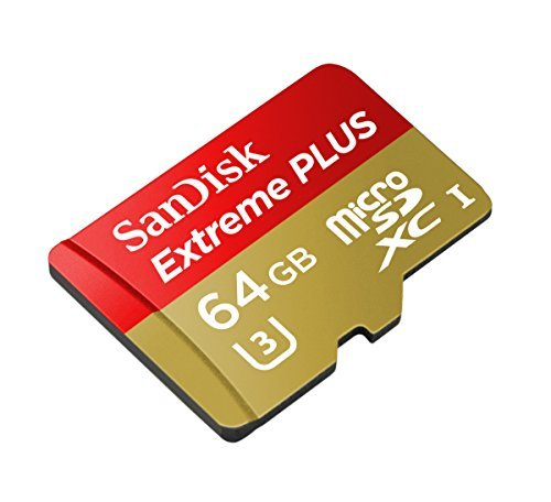 SanDisk Extreme PLUS 32GB microSDXC UHS-I/U3 Card with Adapter (SDSQXSG-032G-GN6MA) [Newest Version] 2 Engineered for the latest Android smartphones, tablets and MIL cameras Shoot continuous burst mode, Full HD and 4K Ultra HD video Up to 95MB/s transfer speeds