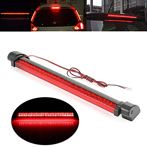 AllExtreme EX48BL1 48 LED Car SUV Brake Light Rear Tail High Mount Third Stop Lamp (Red)