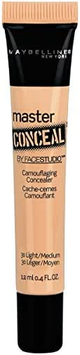 Maybelline New York Facestudio Master Conceal Makeup, Light/Medium, 0.4 fl. oz.