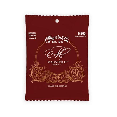 Martin M265 Magnifico Classical Guitar Strings, Normal - Strings Martin Nylon