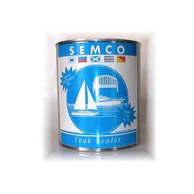 FurnitureSet Natural Tone Finish Semco Teak Wood Waterproofing Sealant Sealer 1 Gallon Sealant Protector #FSAXSMN