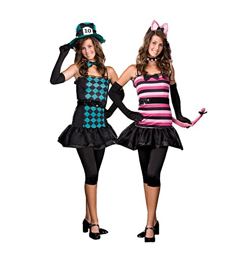 Teen Girl's Mad About You Cheshire Cat Hatter Halloween Costume