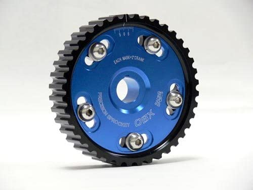 OBX Racing Sports Blue Adjustable Cam Gear For 92-96 Honda Prelude S 2.2L SOHC F22A1 ONLY