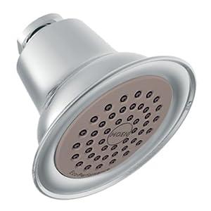 durable service Moen 6313 Showering Accessories-Premium One-Function Eco-Performance Showerhead, Chrome