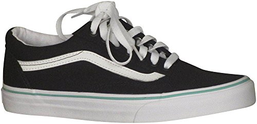 Vans Unisex Old Skool Classic Skate Shoes (canvas) Nero / Florida Keys