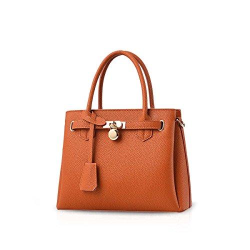Violet sac la Orange mode élégant amp; DORIS classique Le Litchi PU main nouveau à modèle à sac Shouder en NICOLE cuir WH4wvAqA