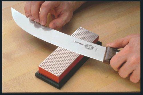 DMT W6FP 6-Inch Diamond Whetstone Sharpener - Fine With Plastic Box