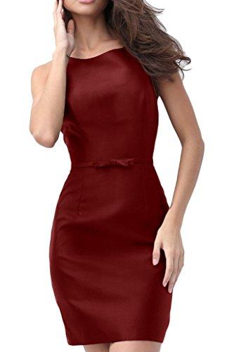 Missdressy - Vestido - Escotado por detrás - para mujer borgoña