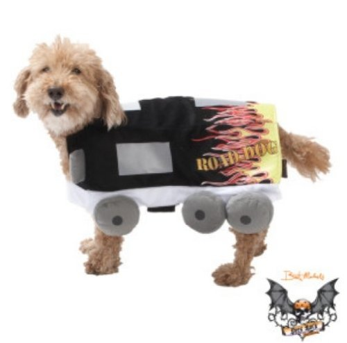 Brett Michaels Dog Halloween Costume Tour Bus