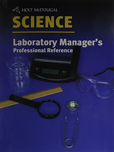 Laboratory Manager's Professional Reference (Holt Science)