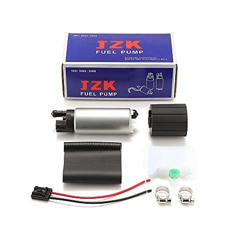 JZK 11001-0222 UM34203 GSS342 ADP053140-201S DW300 DW200 UC34209 255LPH 12V High Flow Electric Intank Fuel Pump With Installation Kit GSS342 for Nissan 350Z 370Z Civic RSX UM34203 etc. ...