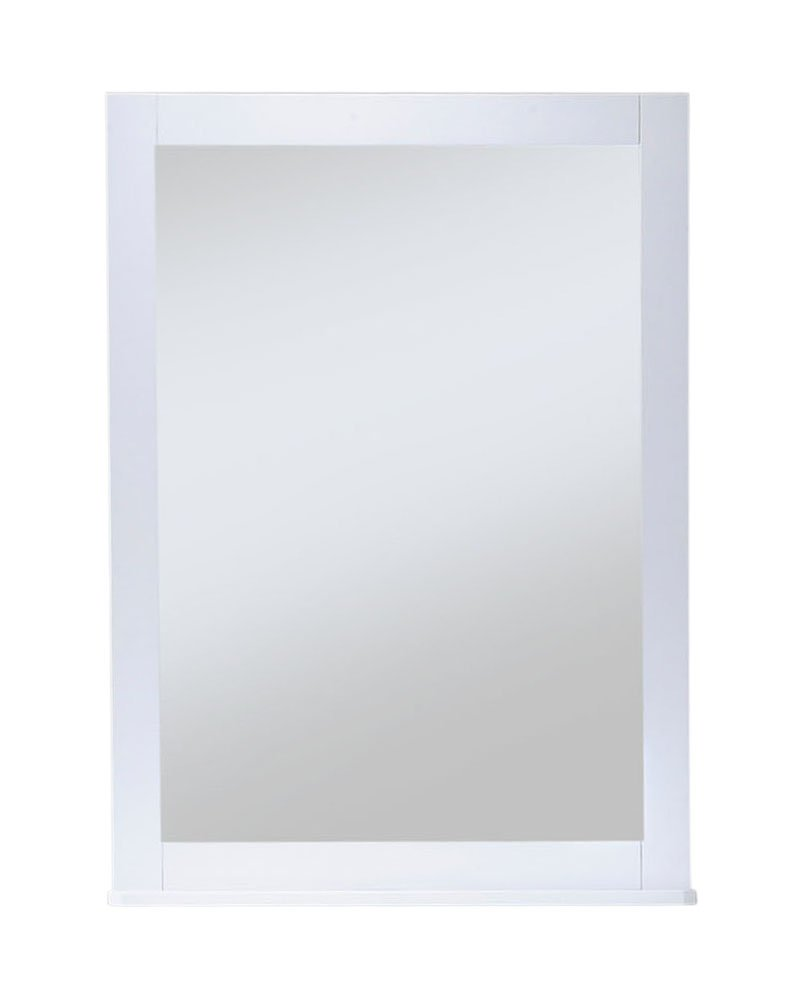Night and Day Furniture Zest Mirror in White Finish