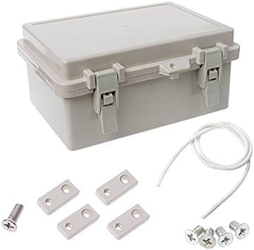 TOOLSTAR caja de derivación, IP65 ABS caja de proyectos eléctricos ...